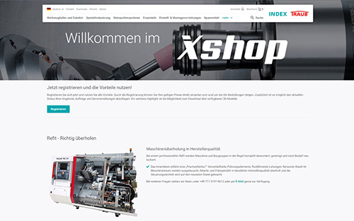 Onlineshop von INDEX & TRAUB